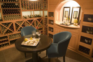 Basement Remodel with Wine Cellar