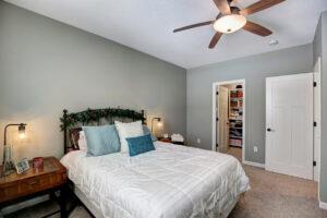 Bedroom in Finished Basement Design